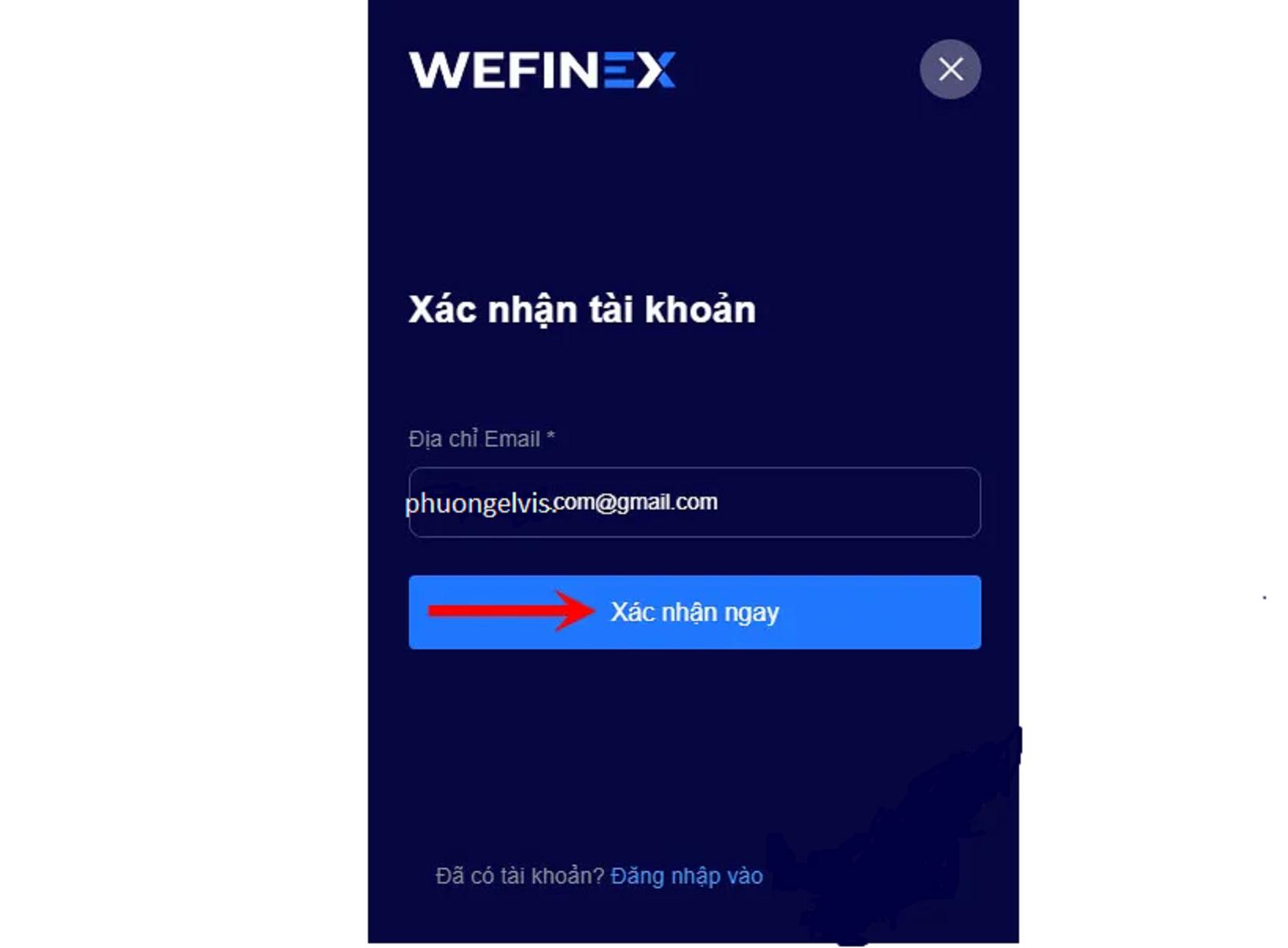 Wefinex là gì? Hướng dẫn đăng ký kiếm tiền Wefinex 2020 7