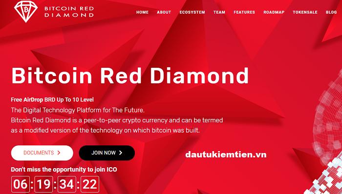 Bitcoin Red Diamond là gì ?
