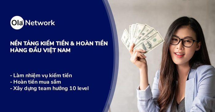 Cách kiếm tiền hiệu quả trên Ola Network