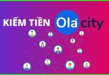 Kiếm tiền cùng OLA CITY nhanh chóng, đơn giản và dễ dàng