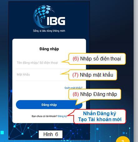 ng ký App IBG việt nam