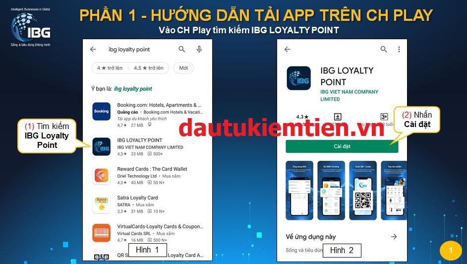 ng ký app IBG