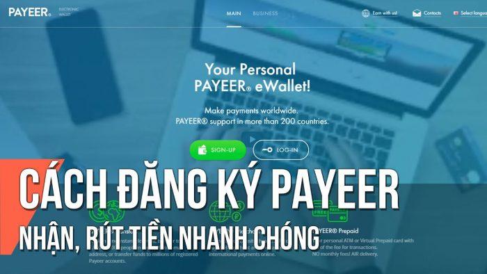 Payeer và cách đăng ký, nạp rút tiền tại ví payeer mới nhất