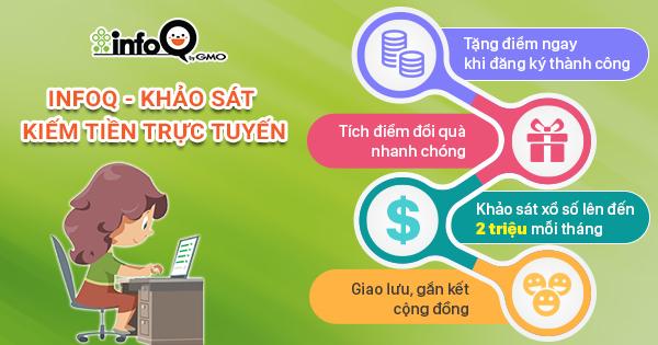 Kiếm tiền bằng InfoQ