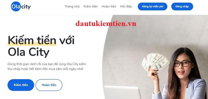 Kiếm tiền Ola City miễn phí nhanh chóng