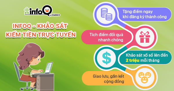 Kiếm tiền Online bằng InfoQ
