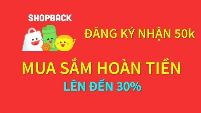 Kiếm tiền online bằng Shopback