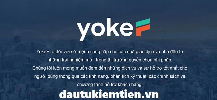Sàn giao dịch Yokef là gì ?