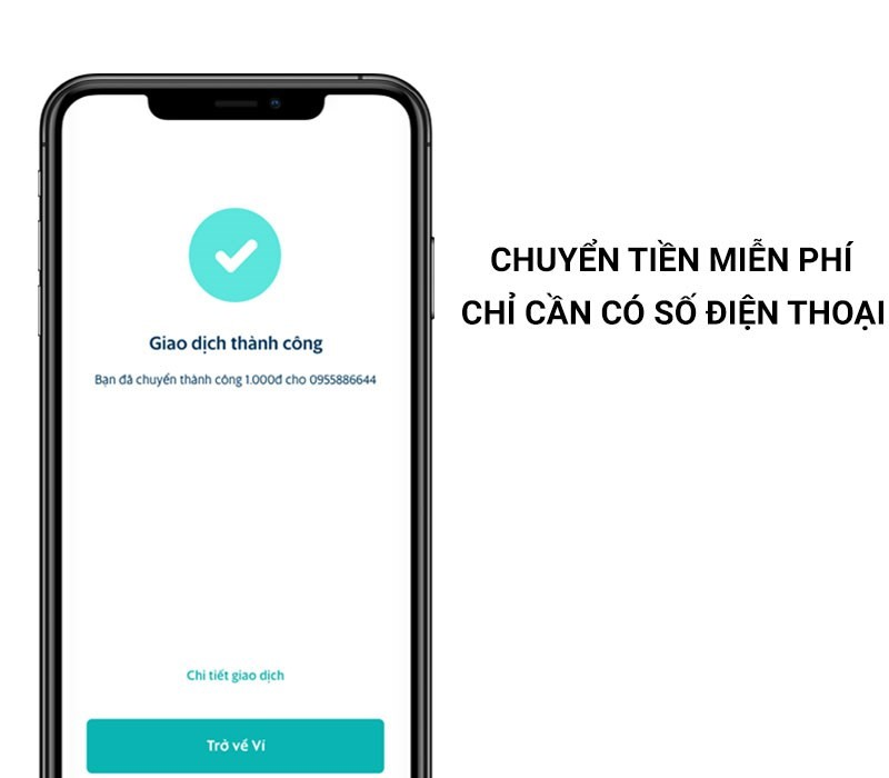SmartPay miễn phí chuyền tiền chỉ cần có số điện thoại