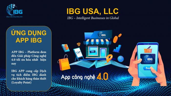 App tích điểm mua sắm IBG Việt Nam
