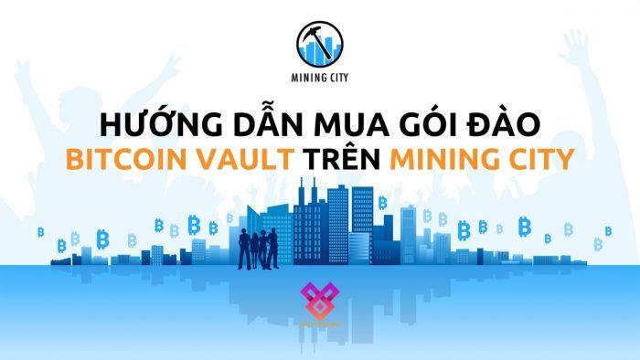 Cách thức mua gói đào BTCV Mining City