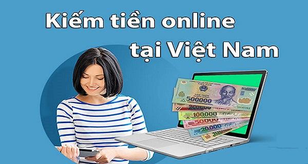 Kiếm tiền tại nhà bằng Online