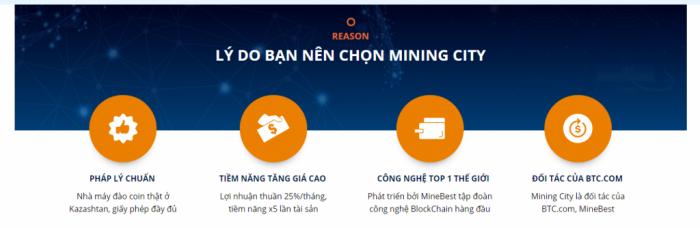 Tại sao bạn nên chọn dự án Mining City để đầu tư ?