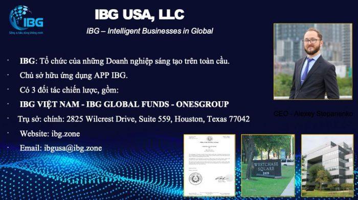 Thông tin dự án IBG
