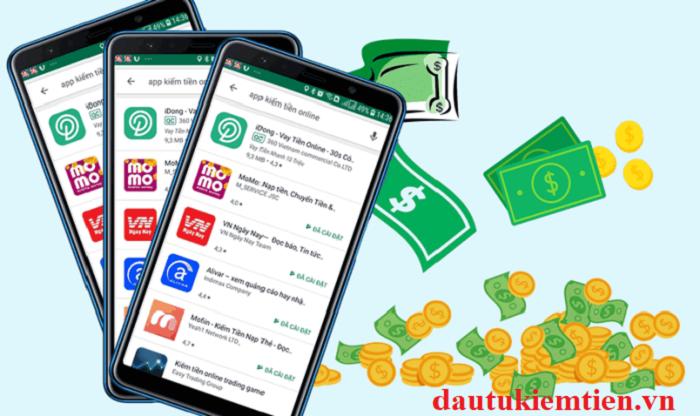 App Momo kiếm tiền trên điện thoại cảm ứng
