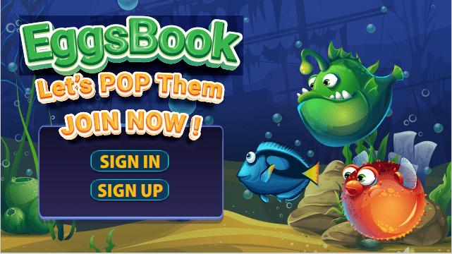 Cách chơi, tham gia game Eggsbook