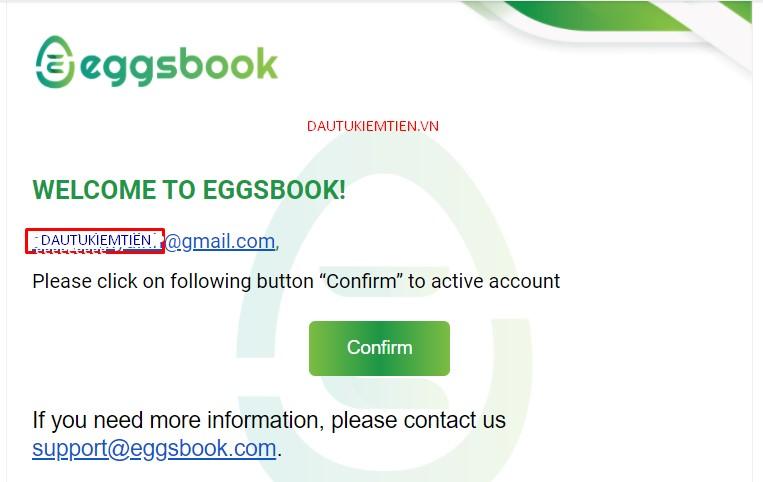 xac nhan email eggsbook game