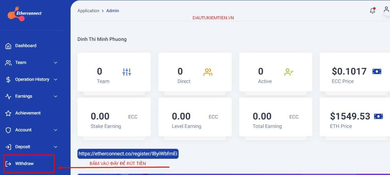 CACH RUT TIEN ETHERCONNECT