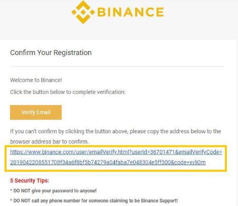 Nhấn vào đường link được gửi đến Email để xác nhận