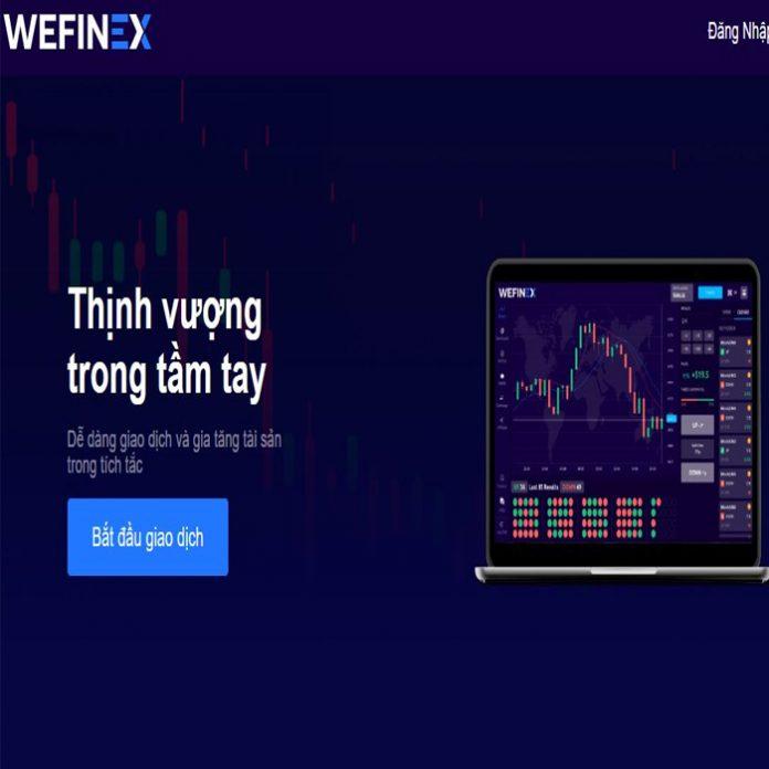Sàn Wefinex cơ hội kiếm tiền an toàn cho nhà đầu tư tài chính