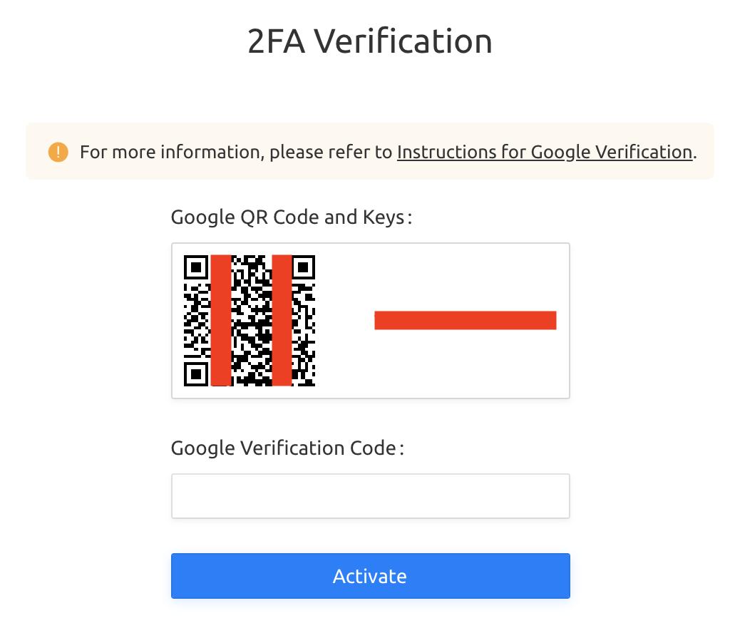 Quét mã QR code bằng ứng dụng Google Authenticator