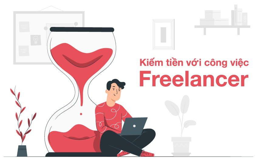 Hình thức kiếm tiền MMO bằng Freelancer