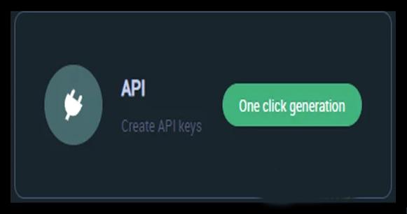Bấm chọn One Click Generation để tạo API