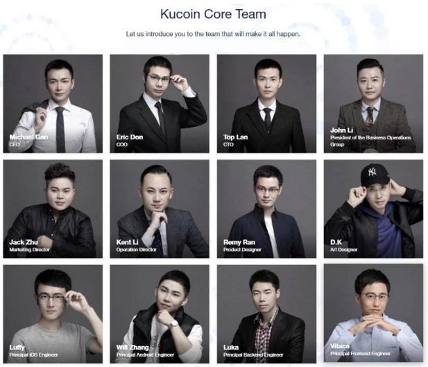 Đội ngũ phát triển sàn KuCoin toàn những chuyên gia trong ngành