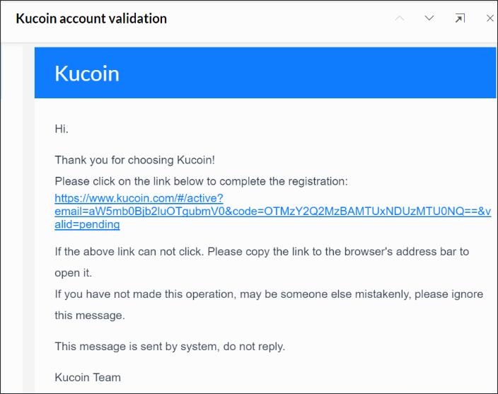 Email kích hoạt tài khoản được gửi đến bạn
