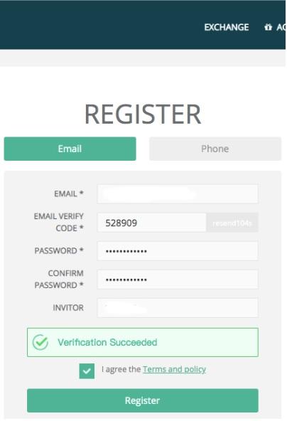 Cách đăng ký tài khoản sàn Hotbit