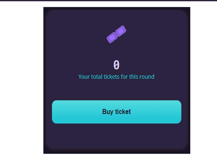 Mua vé bằng cách chọn Buy ticket