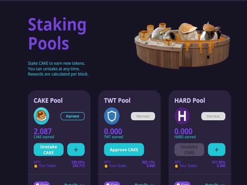 Staking Pools là nơi cho phép các dự án mới quảng bá dự án