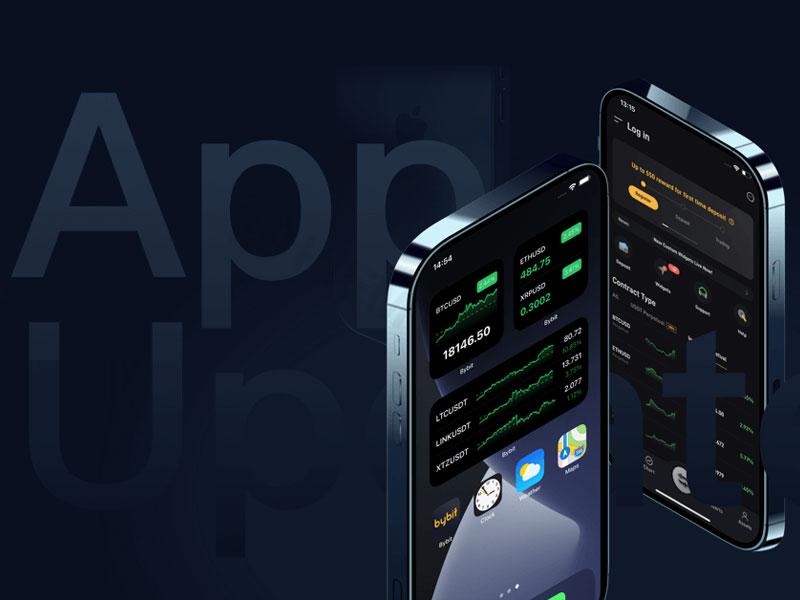 Sàn Bybit đã có ứng dụng trên thiết bị di động thân thiện với những người tiêu dùng