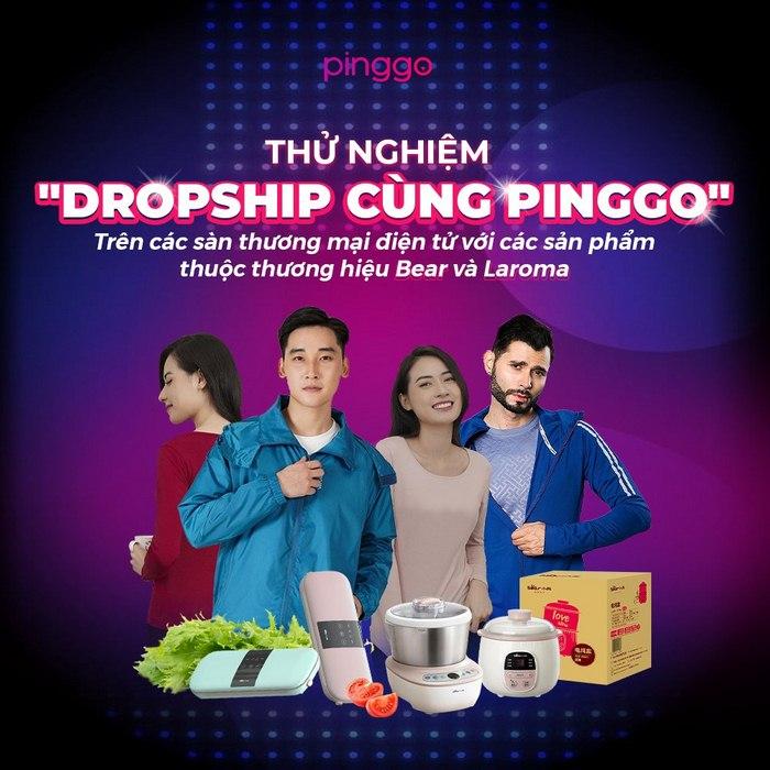 Cách 3: Kiếm tiền với Dropshipping cùng PingGo.