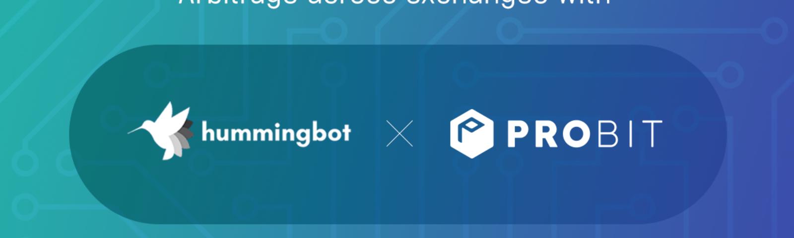 ProBit tích hợp với Hummningbot để cung cấp dịch vụ tạo thị trường tự động