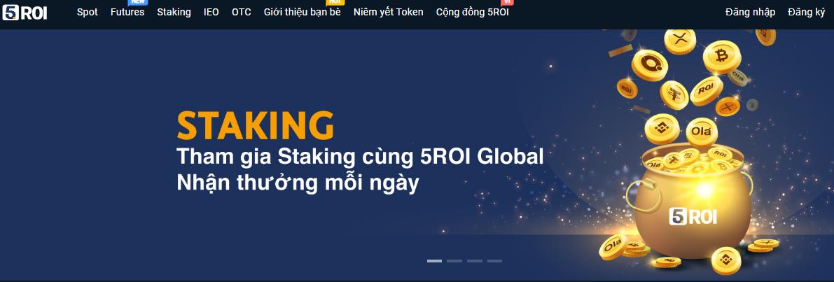 5roi Global là sàn thanh toán thanh toán tiền điện tử quốc tế
