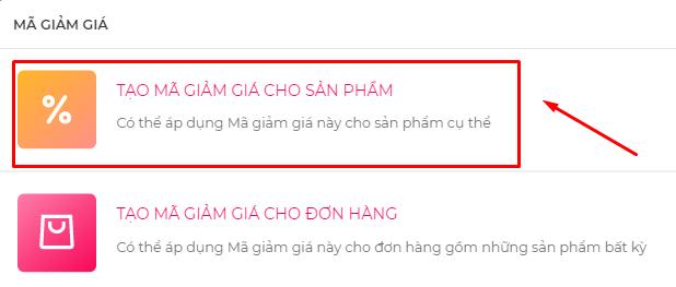 Hướng dẫn cách tạo mã giảm giá trên PingGo