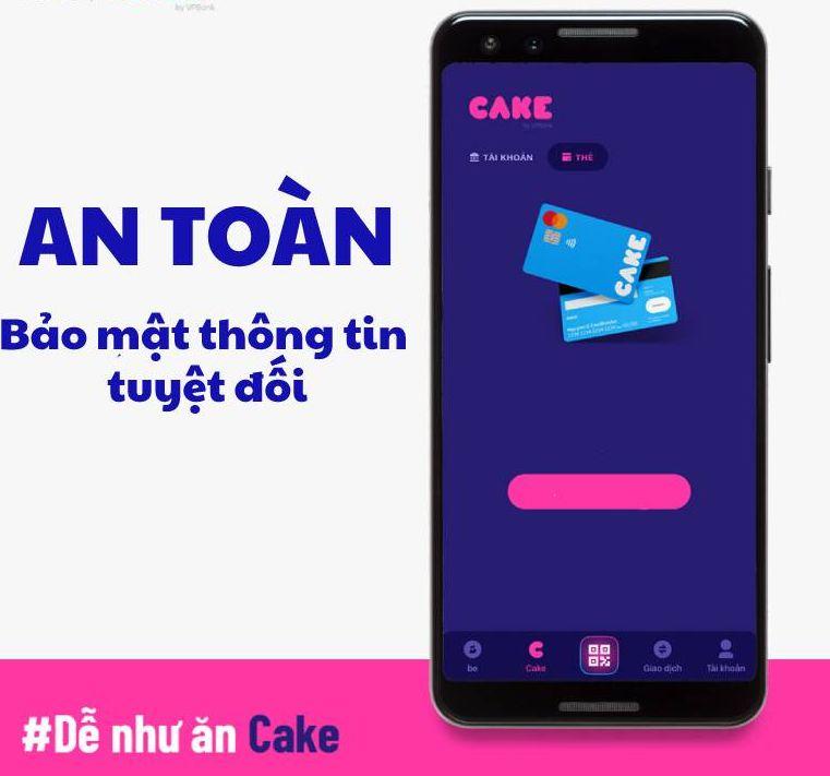 Một số tính năng vượt trội của ngân hàng số Cake