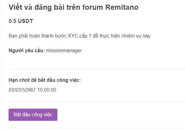 Bạn chỉ cần đăng bài trên diễn đàn Remitano cũng có tiền