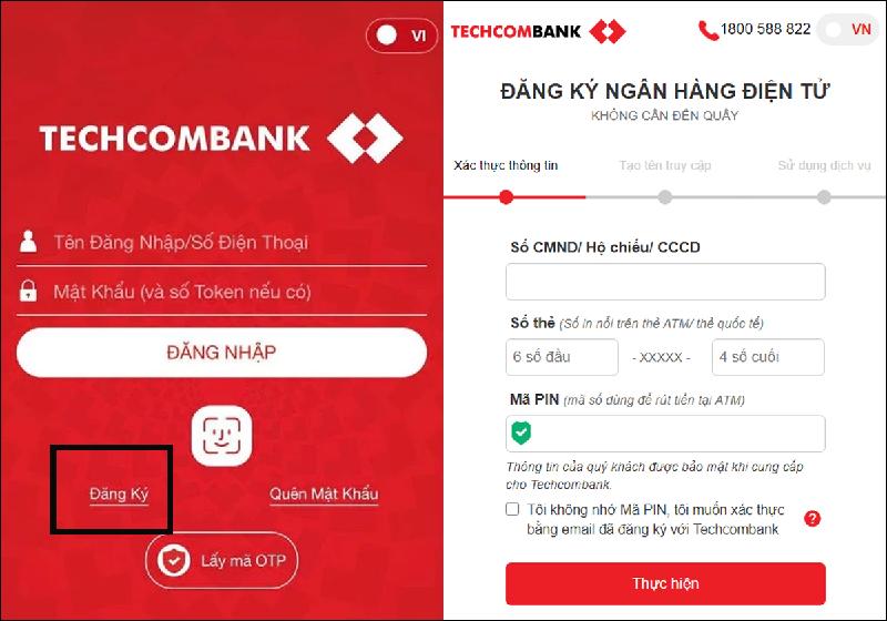 App Techcombank – dịch vụ ngân hàng mới trên điện thoại thông minh