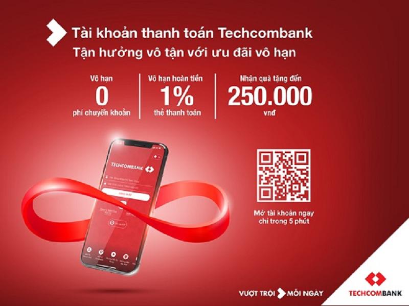 Những chương trình ưu đãi, khuyến mại đáng quan tâm của Techcombank