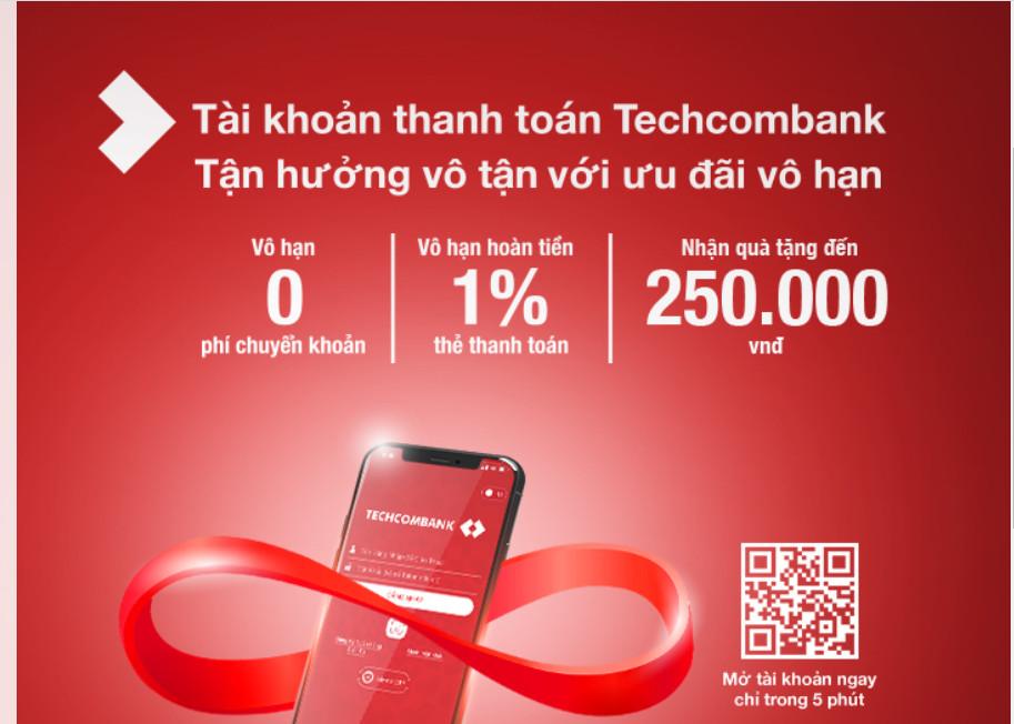 tài khoản thanh toán techcombank
