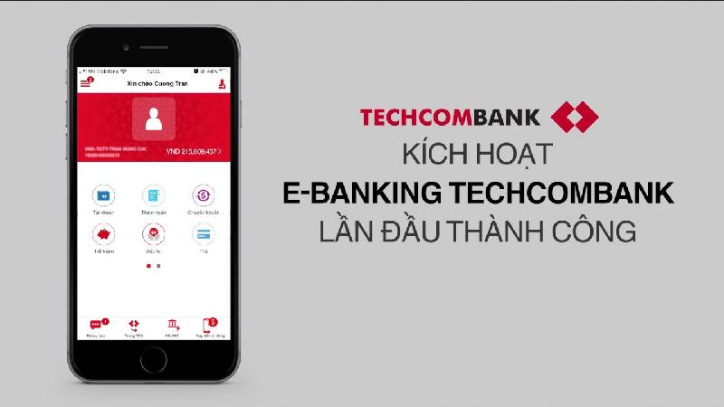 techcombank kich hoat lan dau